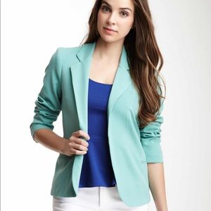 Necessary Objects Solid Collared Blazer